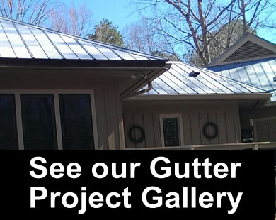 Gutter Project Gallery